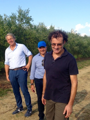 Mario Calzolai, Takis Soldatos och Gerd Stepp.